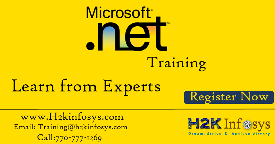 Dotnet Online Training with Certification