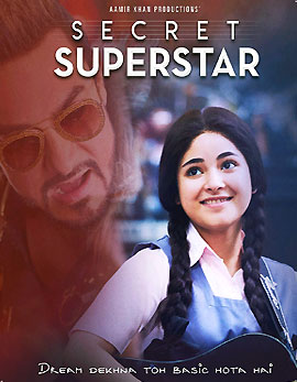 Secret Superstar Movie Review, Rating, Story, Cast and Crew