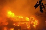 California fires death toll rises to 17 people