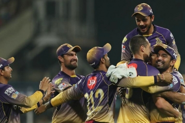 Kolkata Knight Riders Reaches Top of The Table
