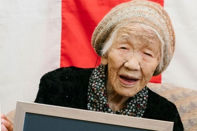 This Japanese Woman is the World's Oldest Living Person
